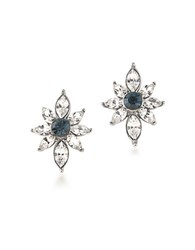 Carolee Silvertone Stud Pierced Earrings