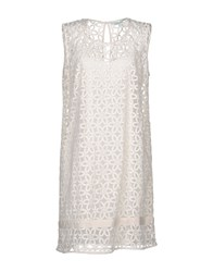La Fee Maraboutee Short Dresses Ivory