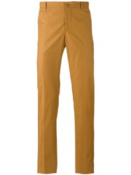 Etro Classic Chinos Yellow Orange