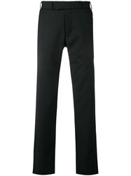 Matthew Miller Tailored Wool Trousers Black