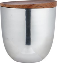 Cb2 Aluminum Large Canister
