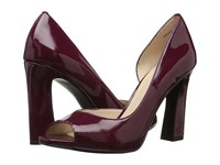 Pelle Moda Nolan Elderberry Patent High Heels Red