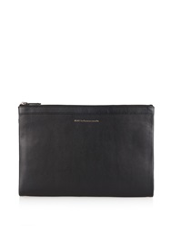 Want Les Essentiels Barajas A4 Double Zip Leather Pouch