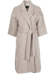 By Malene Birger 'Asana' Coat Nude And Neutrals