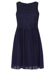Dorothy Perkins Showcase Lace Body Prom Dress Navy
