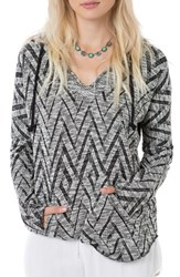 O'neill Women's 'Remi' Chevron Knit Hooded Pullover