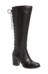 Sofft Women's Wheaton Knee High Boot Black Leather