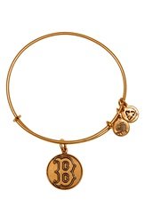 Alex And Ani 'Boston Red Sox' Expandable Charm Bangle Gold