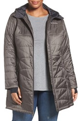 Columbia Plus Size Women's 'Mighty Lite' Hooded Jacket Mineshaft