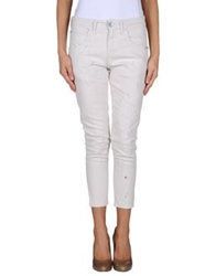 Two Women In The World Denim Pants Ivory