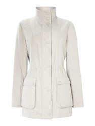 Cloud Nine Micro Quilted Jacket Winter White