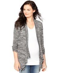 Motherhood Maternity Draped Open Front Cardigan