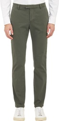 Band Of Outsiders Tuxedo Stripe Chinos Green Size 28