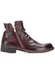Officine Creative Legrand Boots Red