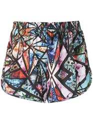 Lygia And Nanny Printed Shorts Women Polyester 40