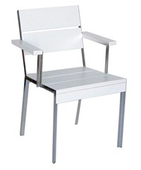 Modern Outdoor Etra Large Arm Chair Multicolor