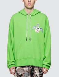 Palm Angels Small Angel Hoodie Multicolor