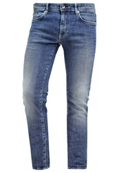 Gas Jeans Sax Slim Fit Dark Blue Stone Blue Denim