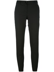 Twin Set Straight Trousers Black