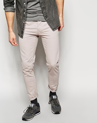 New Look Chinos In Skinny Fit Lightgrey