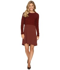 Prana Everly Dress Raisin Women's Dress Brown