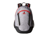 Adidas Excel Ii Backpack Heather Grey Black Scarlet Backpack Bags Gray