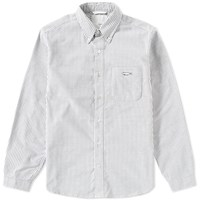 Nanamica Button Down Wind Shirt Black