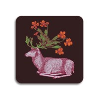 Avenida Home Puddin' Head Animaux Coaster Deer
