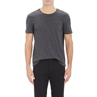 Atm Anthony Thomas Melillo Heathered T Shirt Charcoal