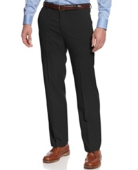 Kenneth Cole Reaction Slim Fit Sharkskin Dress Pants Black