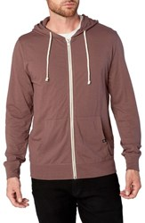 Threads For Thought Giulio Zip Hoodie Twilight Mauve