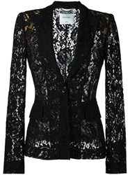Moschino Lace Blazer Black