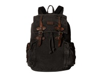 Bed Stu Columbus Black Washed Canvas Bags