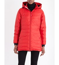 Canada Goose Camp Quilted Jacket Berry Red
