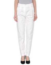Magazzini Del Sale Casual Pants Ivory