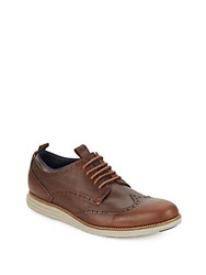 Cole Haan Original Grand Leather Oxfords Heather Brown