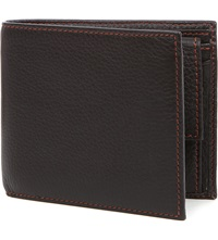 Simon Carter Cinnamon Stitched Soft Leather Wallet Brown