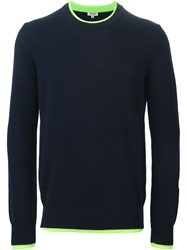 Kenzo Crew Neck Sweater Blue