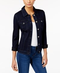 Styleandco. Style And Co. Denim Jacket Rinse Wash