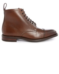 Loake Hyde Brown Leather Boots