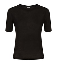 Malo Cashmere Mid Sleeve Jumper Female Black