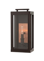 Hinkley Sutcliffe Outdoor Light 2910Oz Small 14 In H Brown