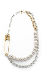 Wouters And Hendrix Multi Strand Necklace Pearl