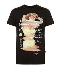 Blood Brother Stay Pin Up T Shirt Male Black
