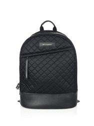 Want Les Essentiels Kastrup Leather Quilted Backpack Black