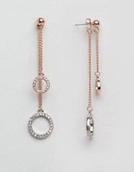 Coast Castril Dangle Earrings Rose Gold Pink