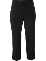 Lanvin Cropped Trousers Black