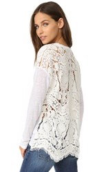 Generation Love Nyla Lace Back Top White