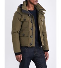Canada Goose Selkirk Quilted Parka Military Green