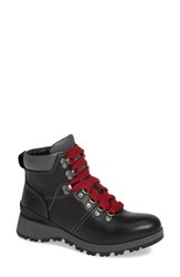 Bionica Dalton Lace Up Boot Black Leather